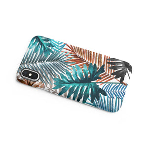Cabana Green Snap iPhone Case - bycsera
