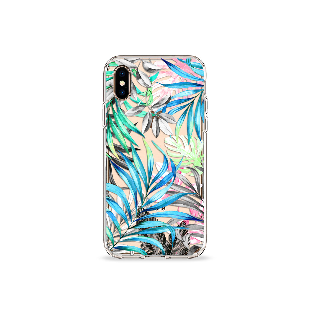 Aruba Palms Clear iPhone Case
