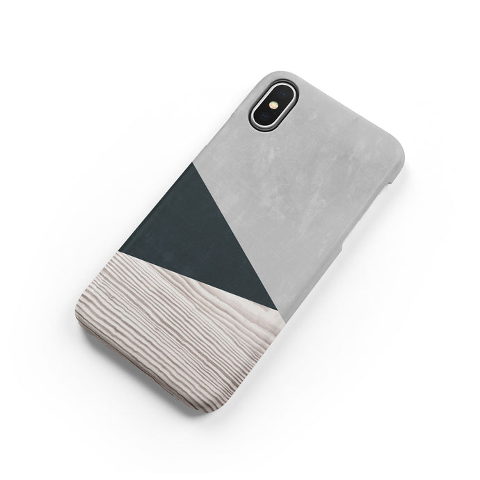 Spruce Green Snap iPhone Case