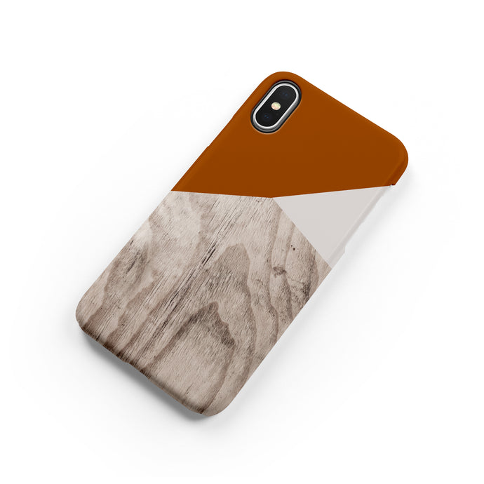 Terracotta Snap iPhone Case - bycsera