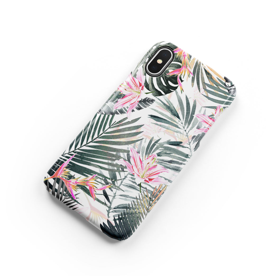 Stargazer Lily Snap iPhone Case
