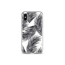 Load image into Gallery viewer, White Palms Clear iPhone Case,CSERA