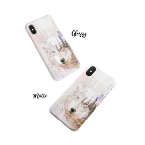 White Paw Snap iPhone Case,CSERA