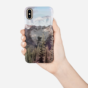 Wolf Territory Snap iPhone 8 Case - bycsera
