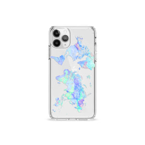 Big Blue Marble Clear iPhone Case