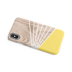 Mellow Yellow Snap iPhone Case - bycsera