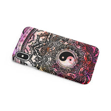 Load image into Gallery viewer, Yin Yang Snap iPhone Case - bycsera