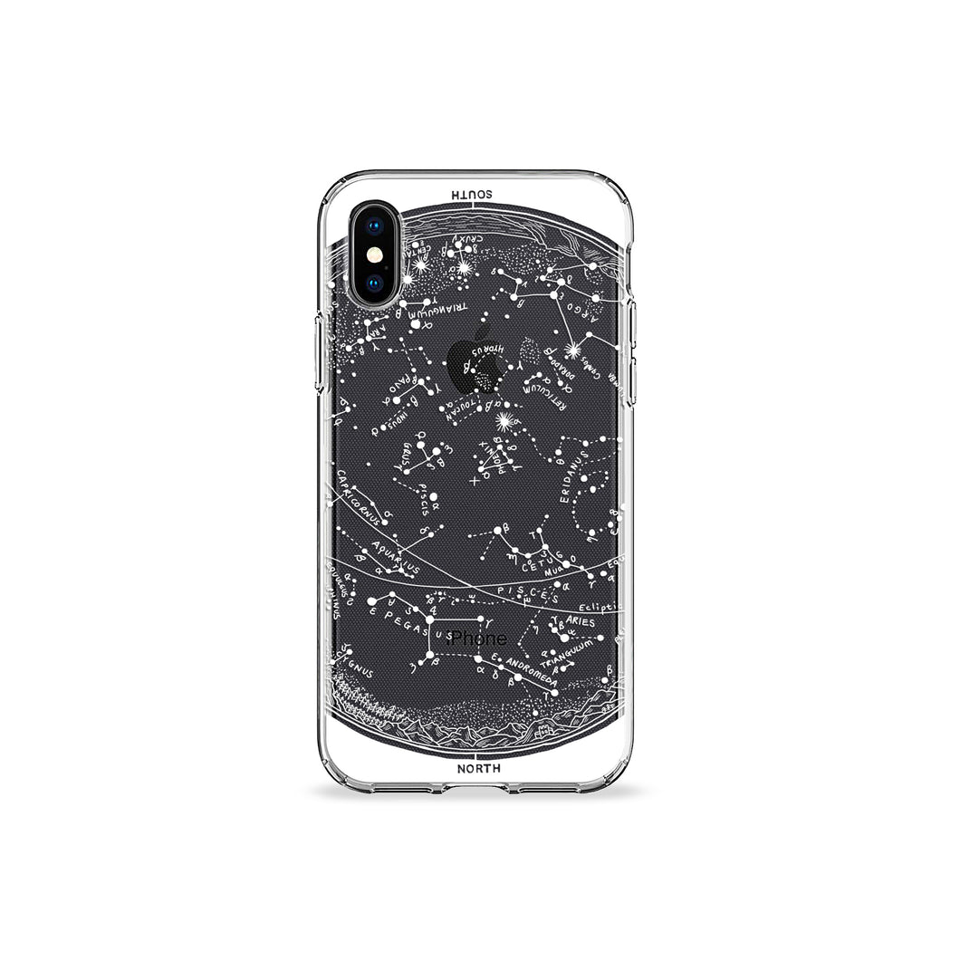 Zodiac Clear iPhone Case - bycsera