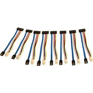 SATA Data/Power Cables - Pack of 8