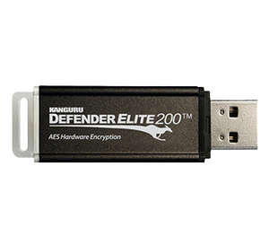 Kanguru Defender Elite200™ Industrial Grade Encrypted USB (Common Criteria EAL2+, FIPS 140-2 Level 2)