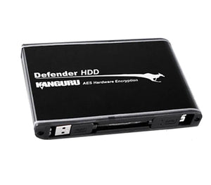 Kanguru Defender HDD™ Hardware Encrypted External Hard Drive