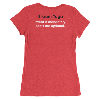 Bikram Yoga Simsbury-Ladies' short sleeve t-shirt