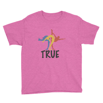True Bikram Yoga-Youth Short Sleeve T-Shirt