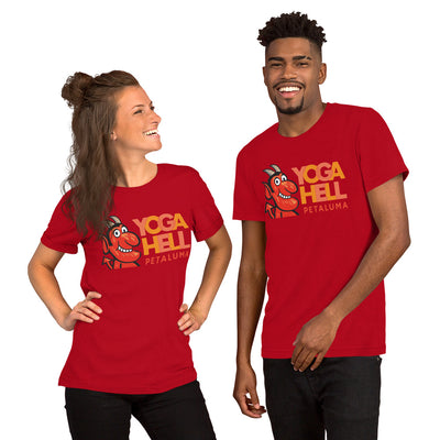 Yoga Hell Petaluma-Short-Sleeve Unisex T-Shirt