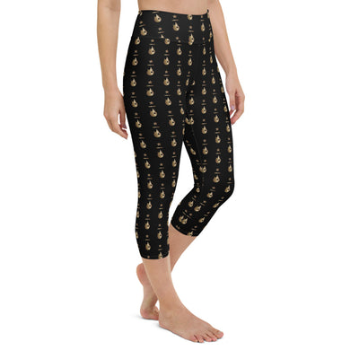True Yoga Vermont-S&R Gold Capri