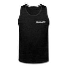 Load image into Gallery viewer, All In Beta - Men's Premium Tank - charcoal gray