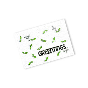 Groeipapier - Greentings