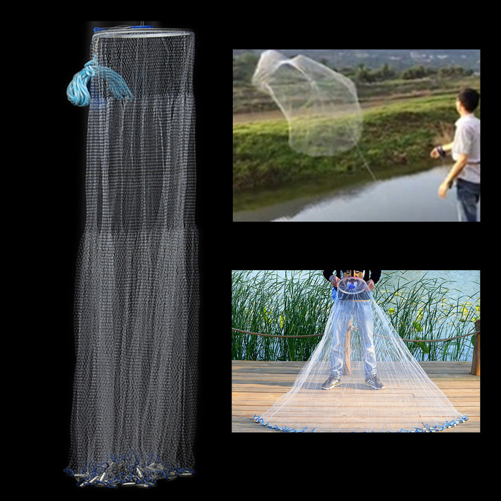Hand Throw Fishing Net