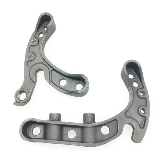 Rear dropouts for flat mount disc brakes - with eyelets