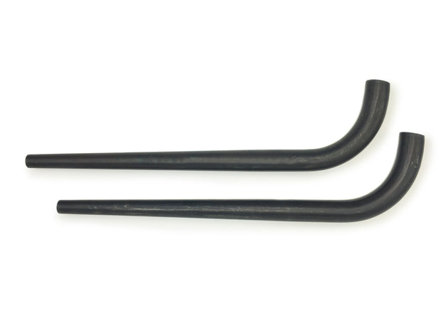 Columbus tapered unicrown fork blades for disc - 28.6mm round - 15mm ID tip - 1.2/1 wall - length = 440