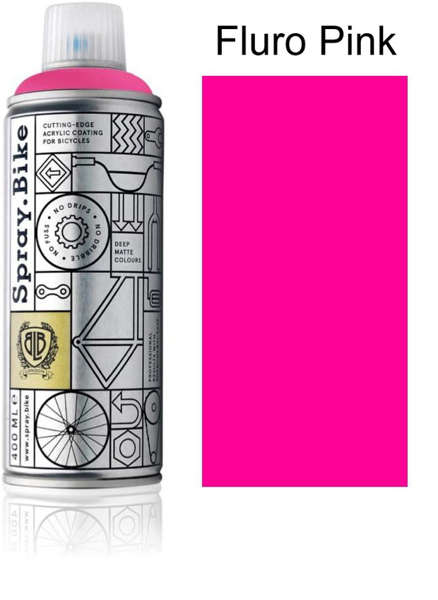Spray.Bike Frame Builder's Assorted Colors - 400ml