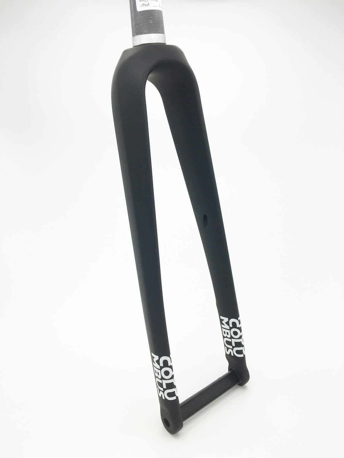 Columbus Futura Gravel disc fork - painted - front 3/4 view
