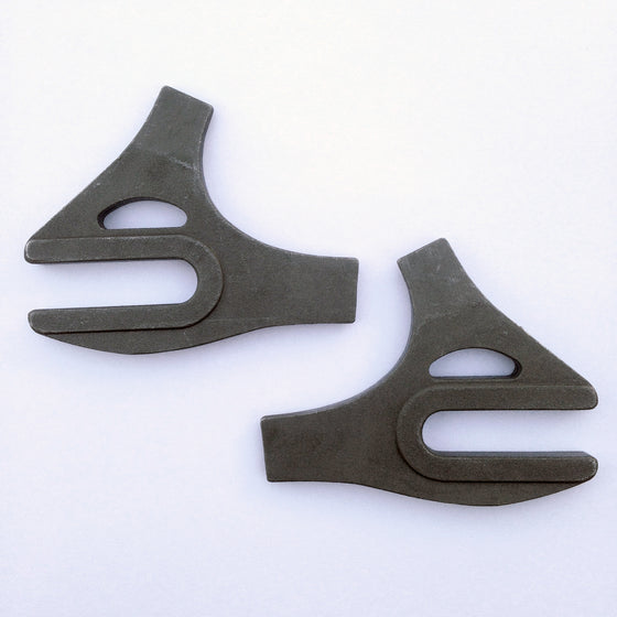 Long Shen rear track dropouts - tab style - 64° SS/CS angle