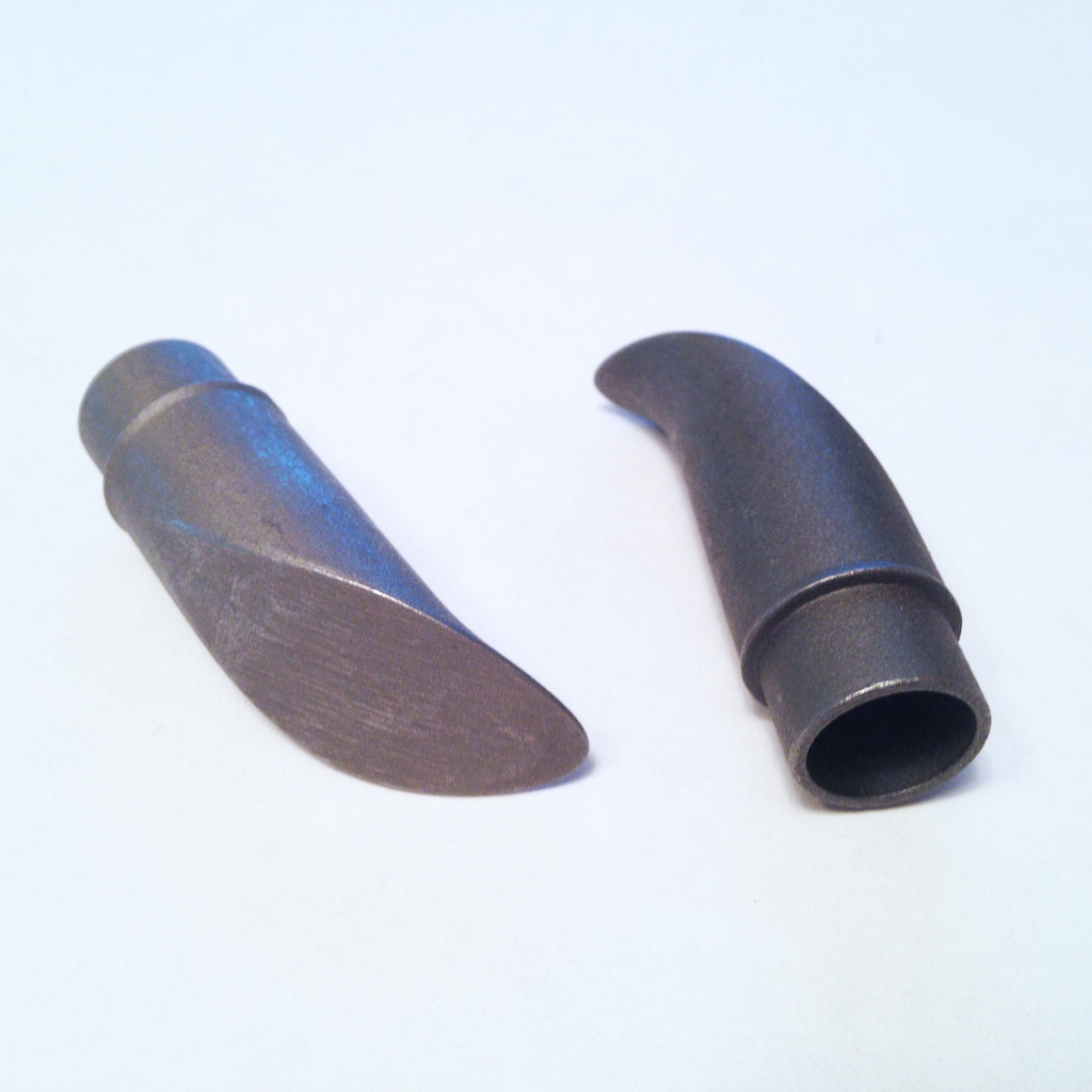 Seat stay tips for use with 14mm interior diameter tubes, curved