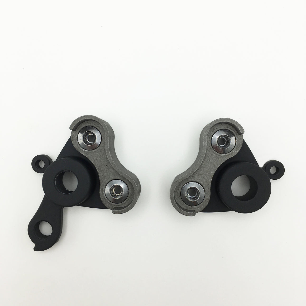 Complete thru-axle modular dropout set - with eyelets - 142/12 - 1.0 thread pitch