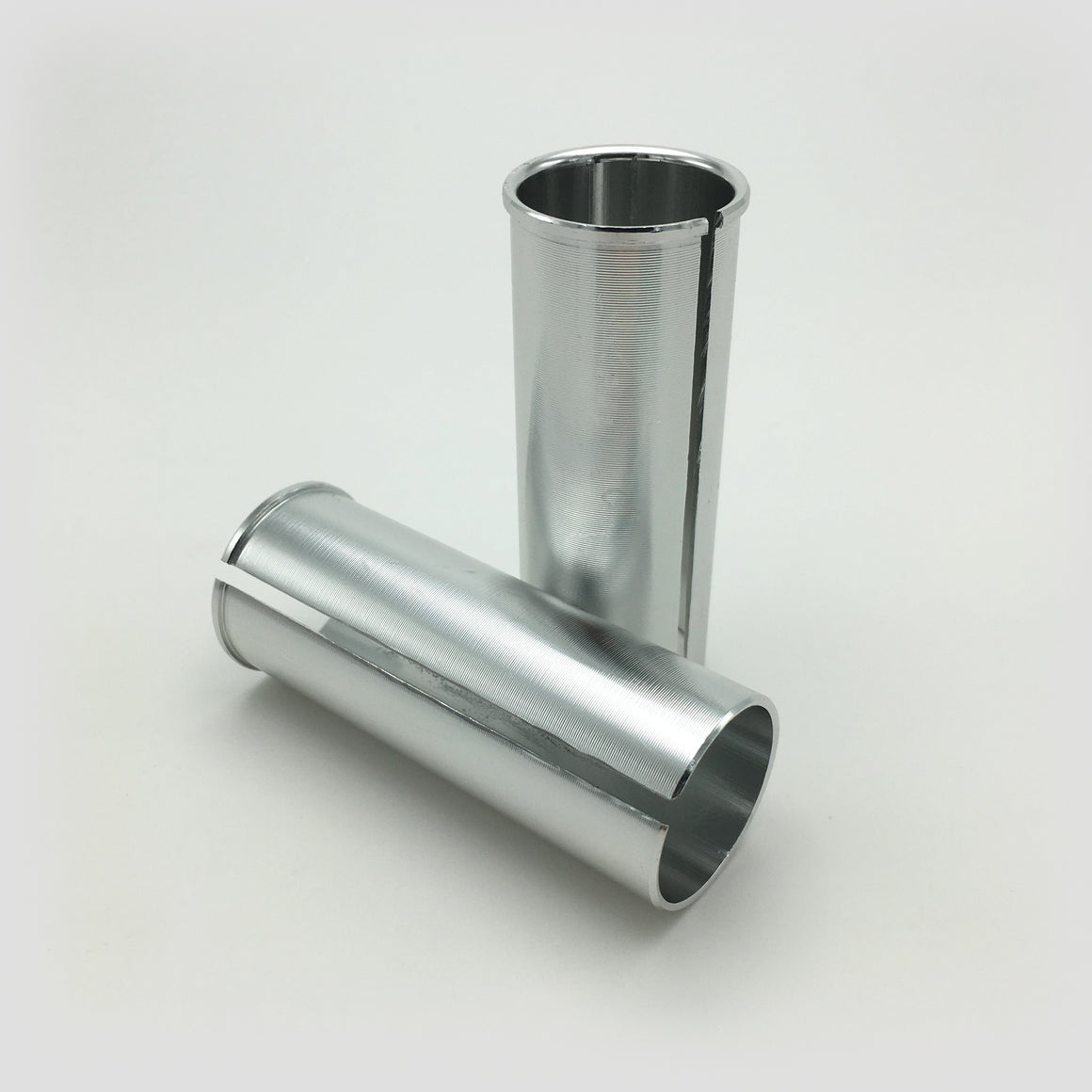 Aluminum reduction sleeve for 31.7 dia. seat tubes