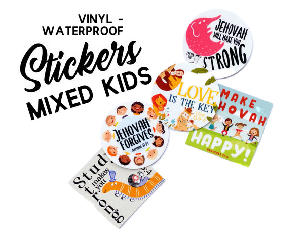 Mixed Kids Stickers