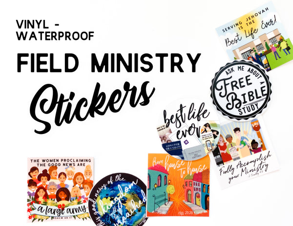 Field Ministry Stickers