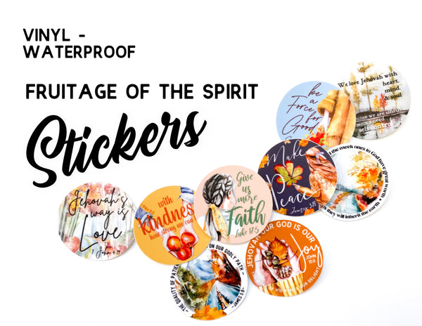Fruitage of the Spirit Stickers