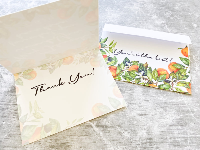 Thank You 4 x 6 Greeting Card