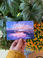 Jehovah is My Helper and Comforter 4 x 6 Postcards