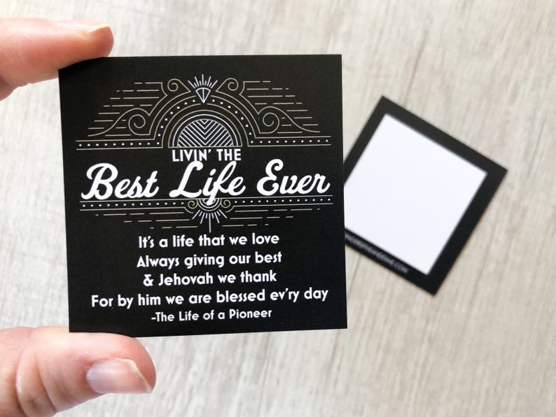 Best Life Ever Gift Bags - Go Make Disciples Pins