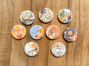 Fruitage of the Spirit Magnets ( Set of 9)