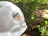 LDC DRC Volunteer Hard Hat Sticker - Spirituality and Safety
