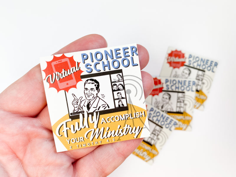 Virtual Pioneer School Magnets