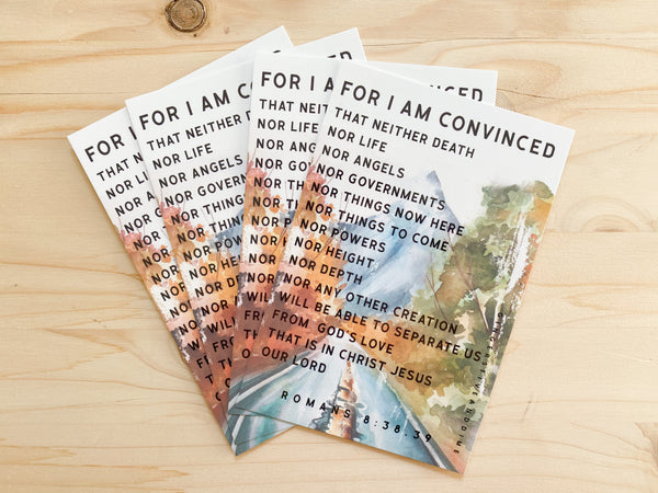 For I Am Convinced Postcards