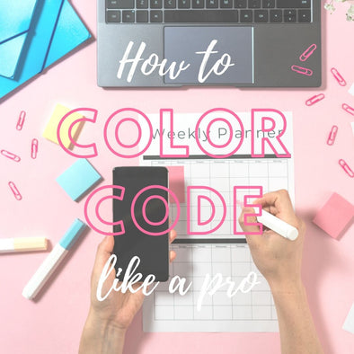 How to color code your planner like a pro!