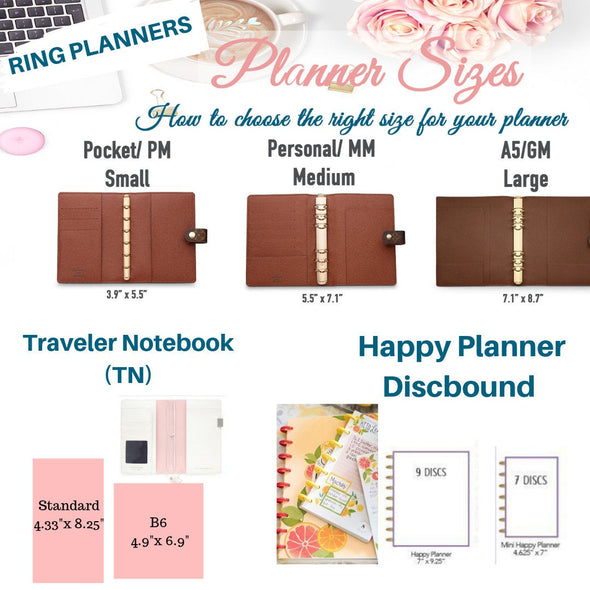 Bags & Accessories Fall Spice Planner Dashboard