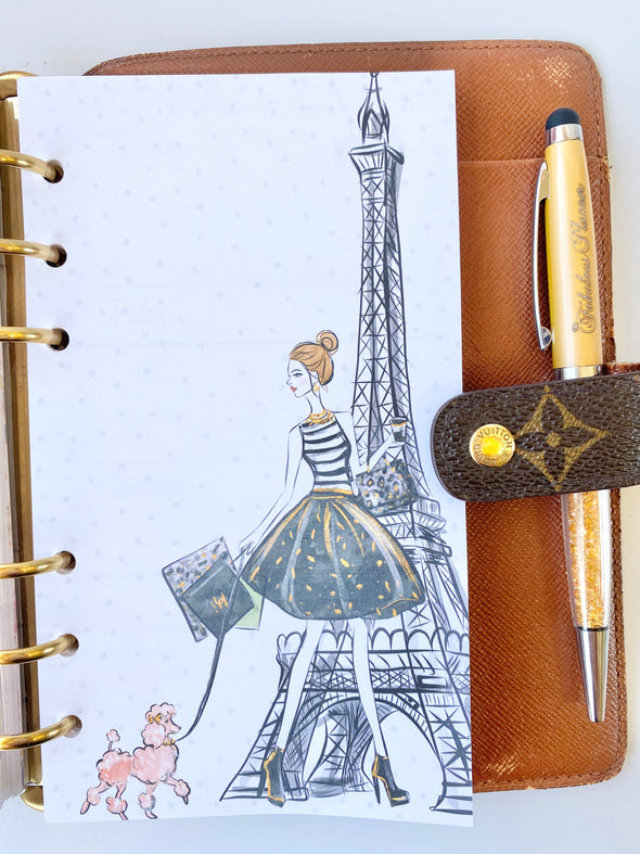 Paris Weekly Planner Refills