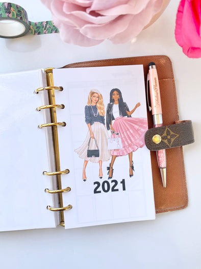 Chic Girls Monthly Planner