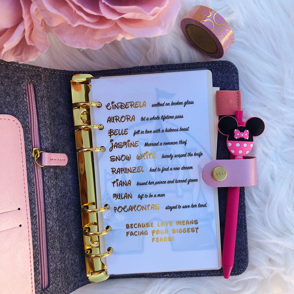 Disney Princess Quotes Dashboard