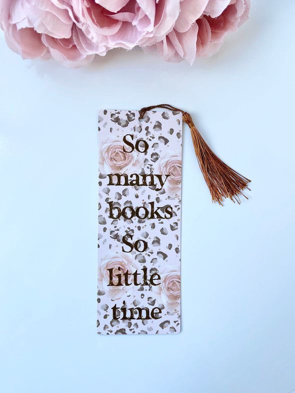 Double-Sided Bookmark Book Club