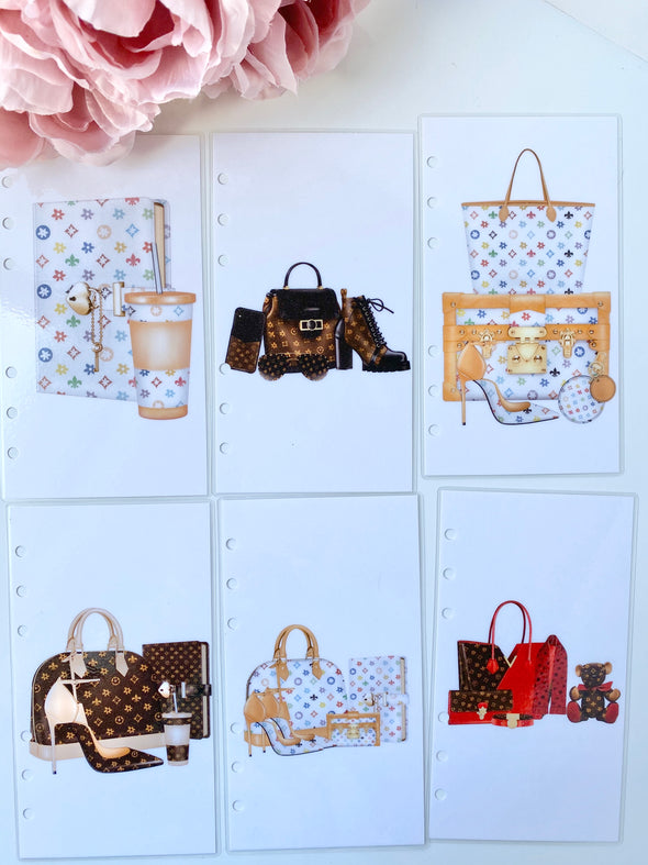 Luxury LV Designer Handbags and Shoes Divider Set
