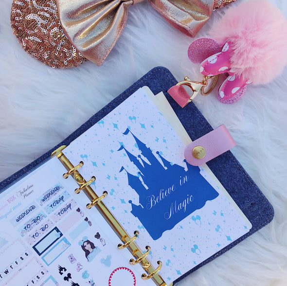 It's a Magical World Weekly Planner Inserts