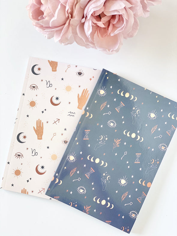 Mystic Moon Lined Journal