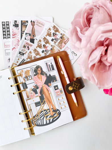 Girl Boss Monthly Inserts